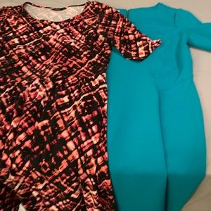 2 Fit & Flare Dresses: Maggy London & Apt.9